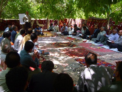 Qashqai tribal session with the government